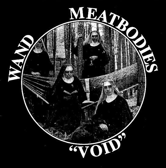 Cover MEATBODIES / WAND, void