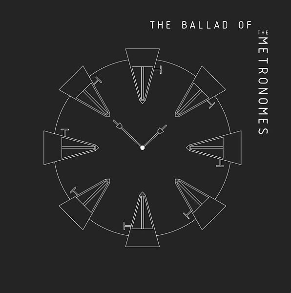 Cover METRONOMES, ballad of the metronomes