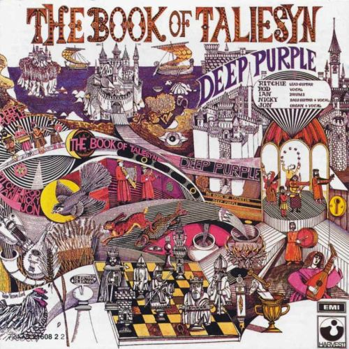 Cover DEEP PURPLE, book of taliesyn