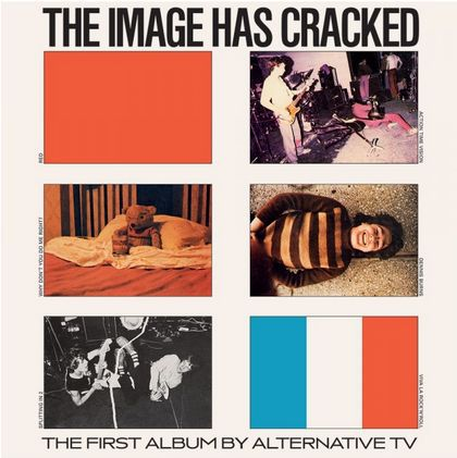 ALTERNATIVE TV, image has cracked cover