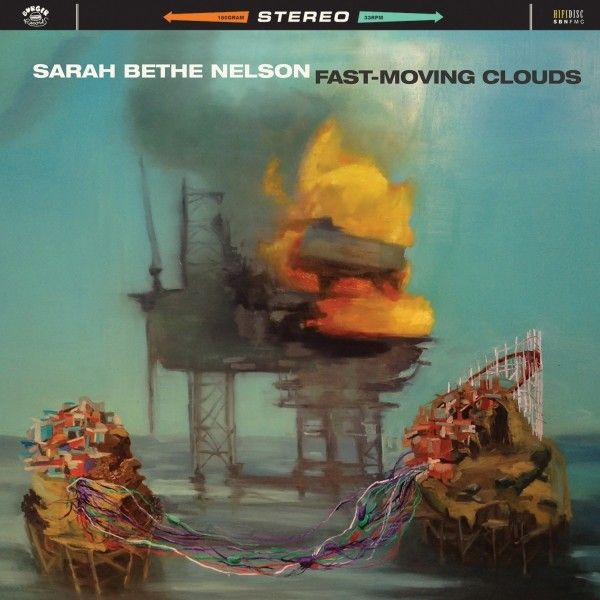 Cover SARAH BETHE NELSON, fast moving clouds
