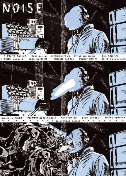 EDDA STROBL / HELMUT F. KAPLAN, tonto comics 13 noise cover