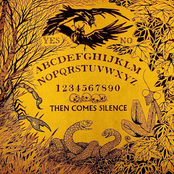 Cover THEN COMES SILENCE, nyctophilian - then comes silence III
