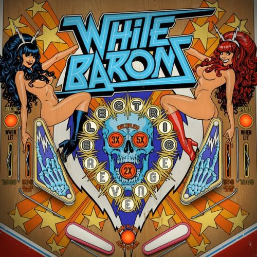 WHITE BARONS, electric revenge cover