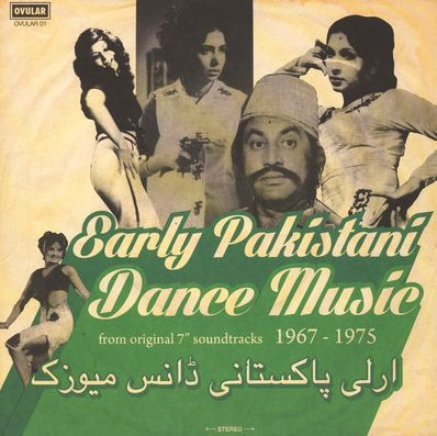 Cover V/A, early pakistani dance music 1967-´75
