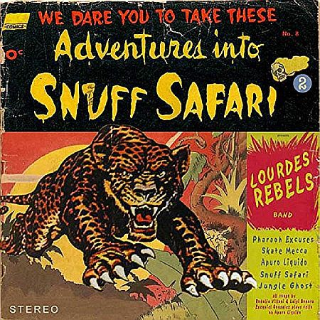Cover LOURDES REBELS, snuff safari