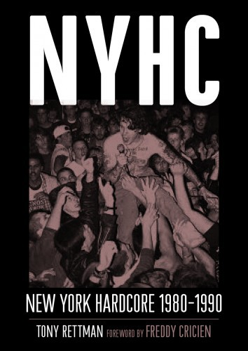 Cover TONY RETTMAN, nyhc new york hardcore 1980-1990
