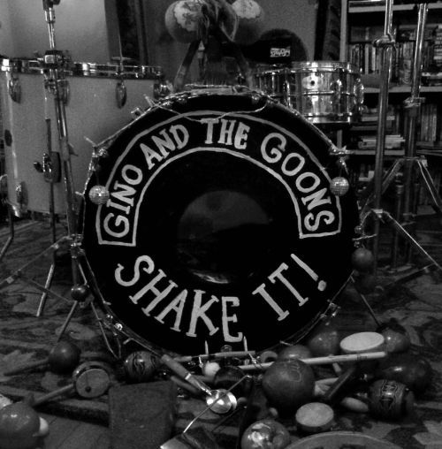 Cover GINO & THE GOONS, shake it!