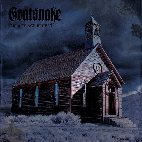 Cover GOATSNAKE, black age blues