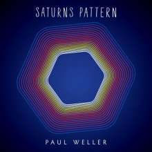 Cover PAUL WELLER, saturns pattern