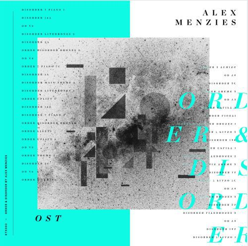 Cover ALEX MENZIES, order & disorder
