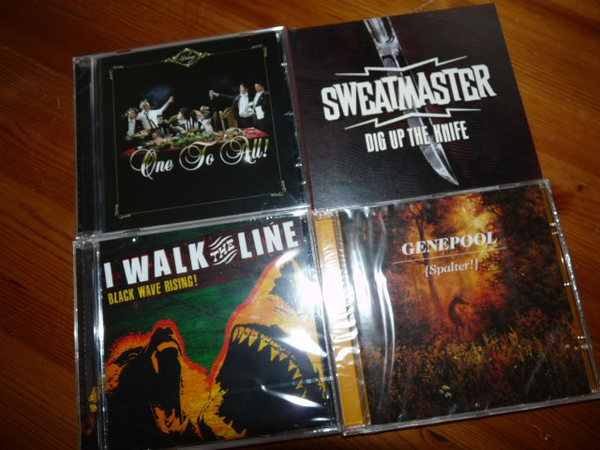 Cover ROOKIE RECORDS, cd bundle (4 stück)