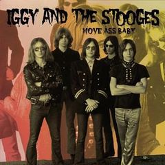 IGGY & THE STOOGES, move ass baby cover