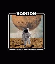 Cover HORIZON, last man in terminus