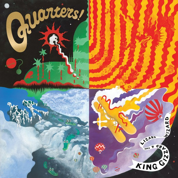 KING GIZZARD & THE LIZARD WIZARD, quarters cover