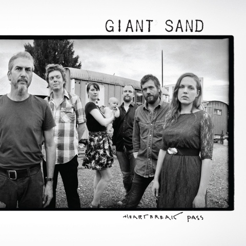 GIANT SAND, heartbreak pass cover