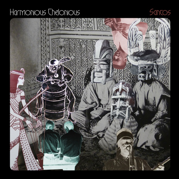 HARMONIOUS THELONIOUS, santos cover