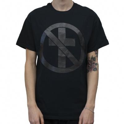 BAD RELIGION, monochrome cross buster (boy) black cover