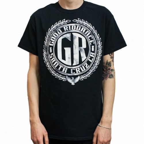 Cover GOOD RIDDANCE, crest (boy) black