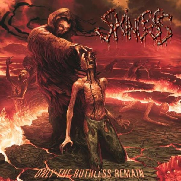 Cover SKINLESS, only the ruthless remain