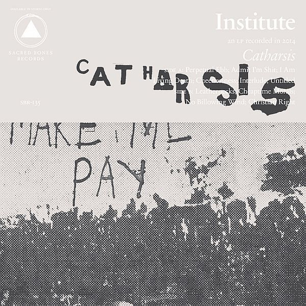 Cover INSTITUTE, catharsis