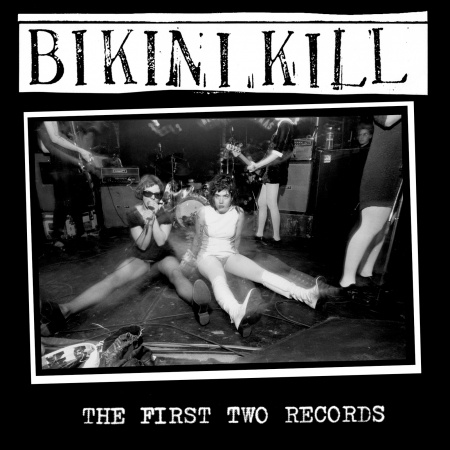 Cover BIKINI KILL, the first two records