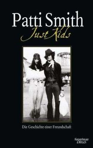 Cover PATTI SMITH, just kids
