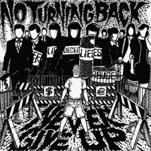 Cover NO TURNING BACK, never give up