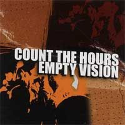 Cover COUNT THE HOURS, empty vision