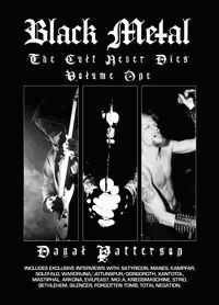 DAYAL PATTERSON, black metal - the cult never dies cover