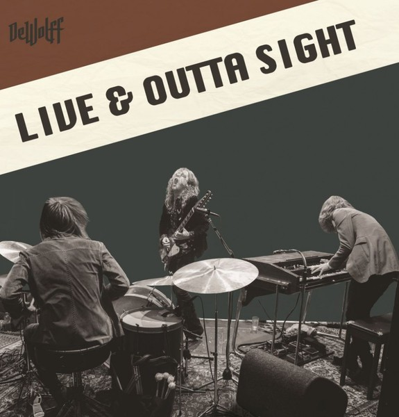 Cover DEWOLFF, live & outta sight
