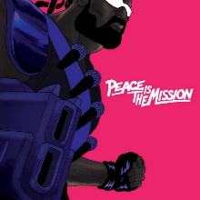 Cover MAJOR LAZER, peace is the mission