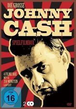 Cover JOHNNY CASH, die große johnny cash spielfilmbox