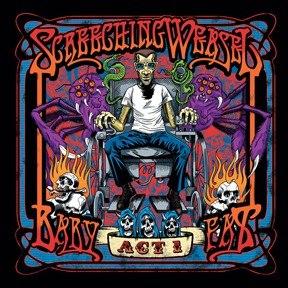 SCREECHING WEASEL, baby fat vol. 1 cover