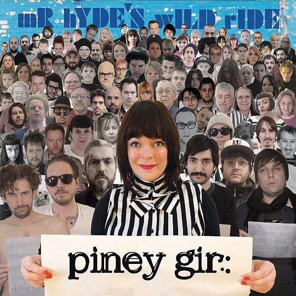 PINEY GIR, mr hyde´s wild ride cover