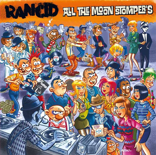 RANCID, all the moonstompers cover