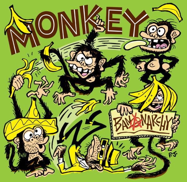 MONKEY, bananarchy cover