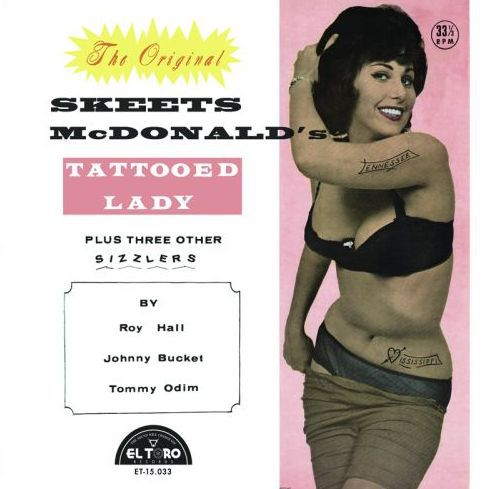 V/A, skeets mcdonald´s tattooed lady cover