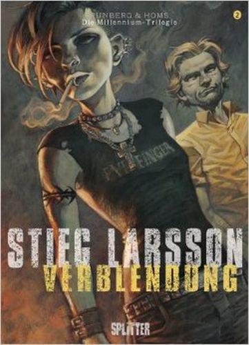 STIEG LARSSON/SYLVAIN RUNBERG/JOSÉ HOMS, millenium triologie - verblendung 02 cover