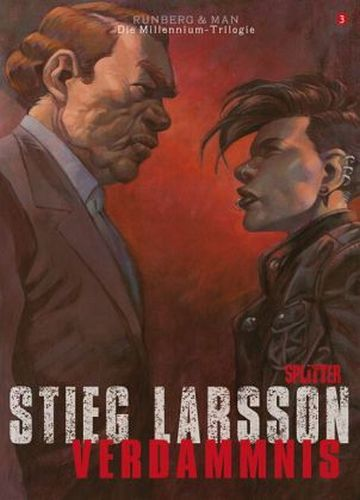 STIEG LARSSON/SYLVAIN RUNBERG/JOSÉ HOMS, millenium triologie - verdammnis 01 cover