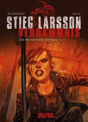 STIEG LARSSON/SYLVAIN RUNBERG/JOSÉ HOMS, millenium triologie - verdammnis 02 cover