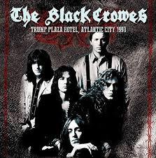 Cover BLACK CROWES, trump plaza hotel, atlantic city 1990