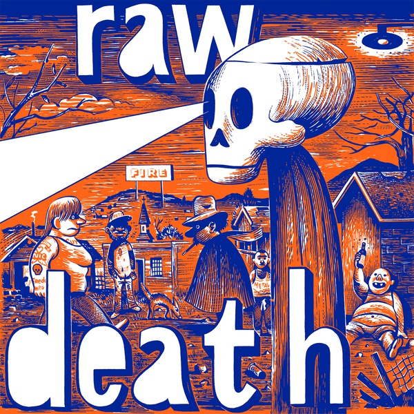 Cover RAW DEATH, s/t