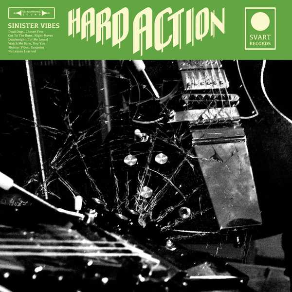 Cover HARD ACTION, sinister vibes