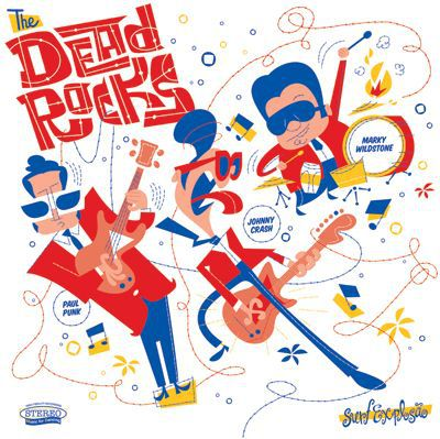 Cover DEAD ROCKS, surf explosao