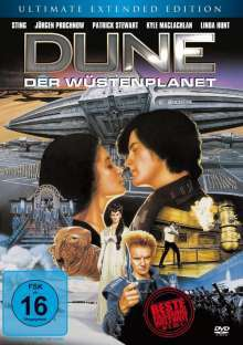 Cover DAVID LYNCH, dune-der wüstenplanet (extended edition)