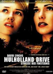 DAVID LYNCH, mulholland drive cover