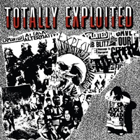 Cover EXPLOITED, totally exploited