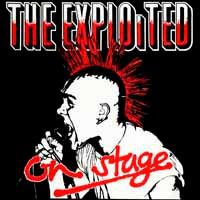 Cover EXPLOITED, on stage