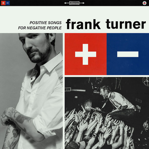 FRANK TURNER, positive songs for negative people cover